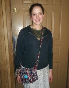 crochet purse model